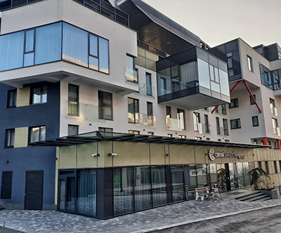 Prijeten oddih v aparthotelu Centar Sarajevo 4*