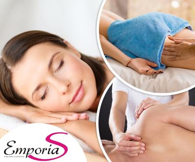 Športna ALI terapevtska masaža, 50 min