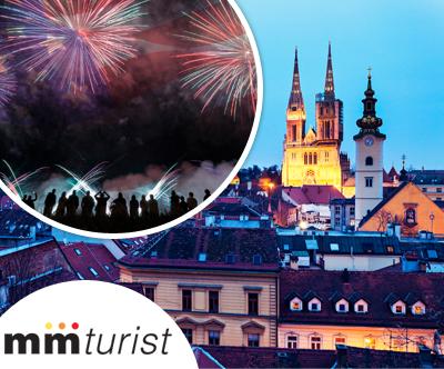 Nepozabno silvestrovanje v hrvaški prestolnici