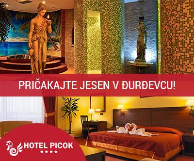 Edinstven 3-dnevni paket za 2 osebi v Hotelu Picok 4*