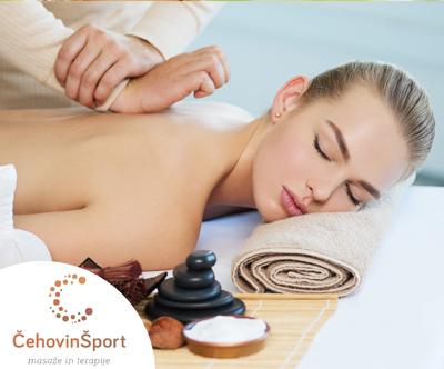 Klasicna masaža telesa z etericnimi olji (60 min)