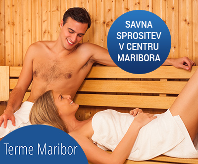 Savna v hotelu Mercure Maribor City Center