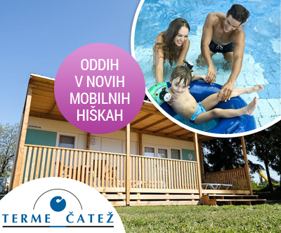 Terme village – Mobilne hiške Terme Catež