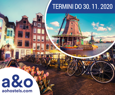 Popoln 3-dnevni oddih v hotelu A&O Amsterdam Zuidoost
