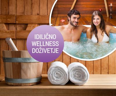 Romanticno wellness razvajanje za 2