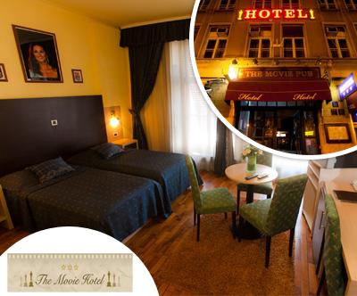 Zvezdniški oddih v The Movie Hotelu 3* v Zagrebu