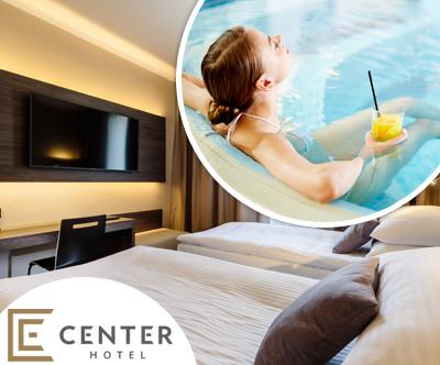 Popoln oddih v Hotelu Center Novo mesto + kopanje