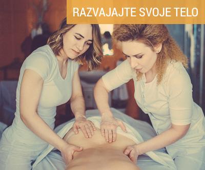 4-rocna masaža celega telesa s kar dvema maserkama