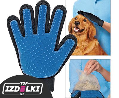 Rokavica za cesanje živali Pet Glove