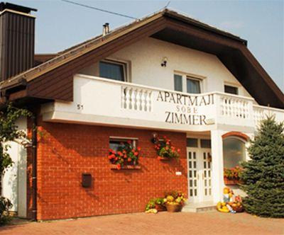 Prijetni apartmaji Soncnica v Moravskih Toplicah