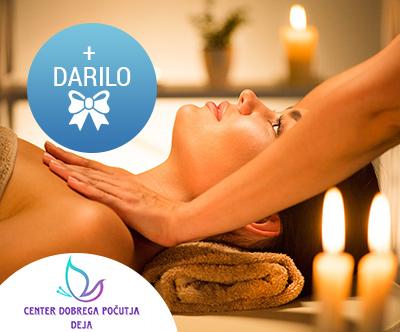 50-minutna luksuzna masaža z zlatom