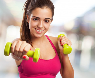 Mesecna karta za TONING vadbo z utežmi