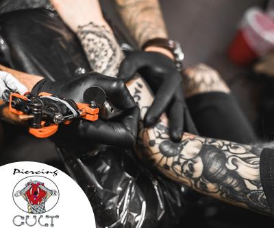 Tattoo po izbiri v studiu Cult