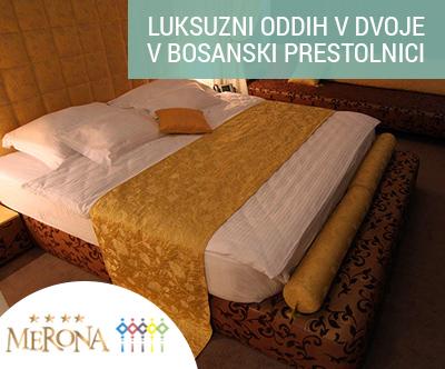 3-dnevni oddih v cudovitem hotelu Merona v Sarajevu