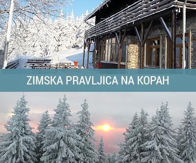 Zimski oddih na Partizanskem domu na Mali Kopi