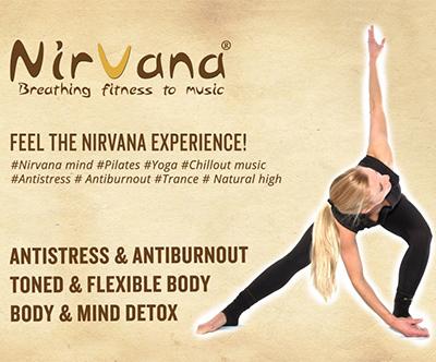 Karta za 8 vadb Nirvana Fitnessa