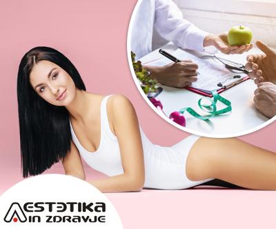 Program za redukcijo teže v salonu Aestetika in zdravje