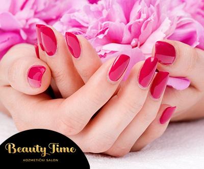 Barvno lakiranje v salonu Beauty Time
