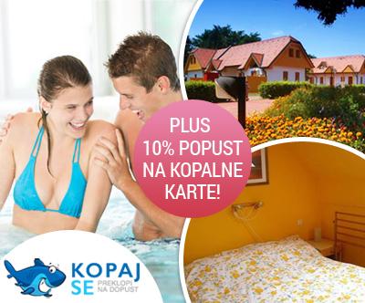 Najem apartmaja v Moravskih toplicah za do 6 oseb