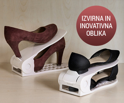 Organizator za cevlje InnovaGoods Shoe Rack, 8 kosov