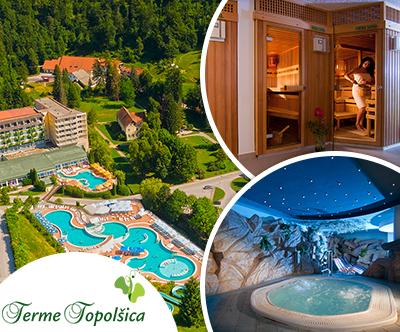 Popoln oddih v hotelu Vesna 3*, Terme Topolšica