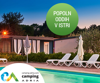 Edinstvene mobilne hiške v 4 odlicnih kampih v Istri