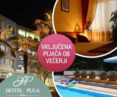 Popoln oddih s polpenzionom v Hotelu Pula