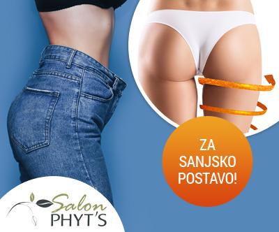 Paket za oblikovanje telesa v Kozmeticnem salonu Phyt's