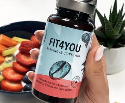 Super prehransko dopolnilo FIT4YOU (60 kapsul)