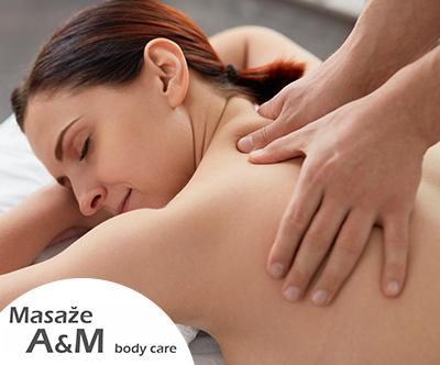 Masaža hrbta in nog v MASAŽE A&M, body care