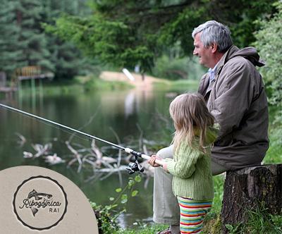 Ribolov v ribniku postrvi + 1kg ulovljenih postrvi