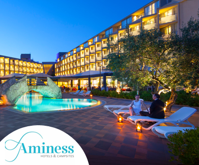 Mega paket za 2 osebi v Aminess Maestral Hotelu!