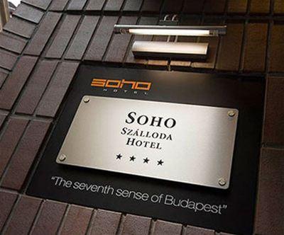 Soho Boutique Hotel 4*, Budimpešta