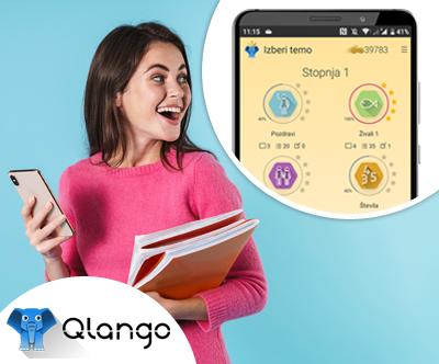Odlicna aplikacija Qlango za ucenje tujih jezikov