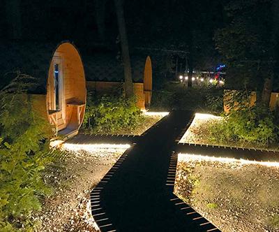 Pocitniški park Schlaffass Tattendorf
