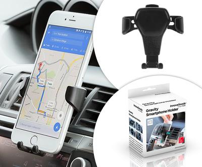 Gravitacijsko stojalo za pametne telefone za avto