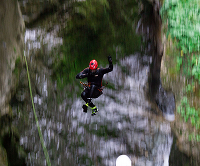 Nora adrenalinska avantura - soteskanje
