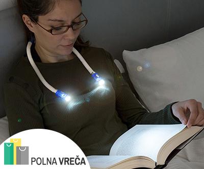 Inovativna LED lucka za okoli vratu