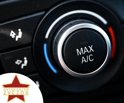 Servis klimatske naprave za osebno vozilo