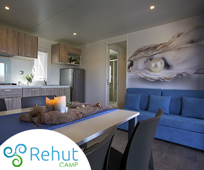 Kamp Rehut, otok Murter: odlicne mobilne hišice za 4