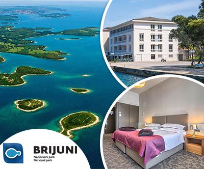 Hotel istra, Brioni: 3-dnevni oddih za 2 osebi