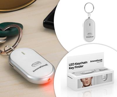 Obesek iskalnik kljucev LED InnovaGoods Gadget Tech