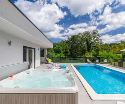Villa Romantica 4*, Istra: moderna vila z jacuzzijem