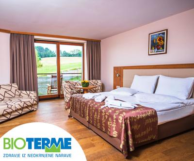 Hotel Bioterme 4*, Mala Nedelja: polpenzion za 2 osebi