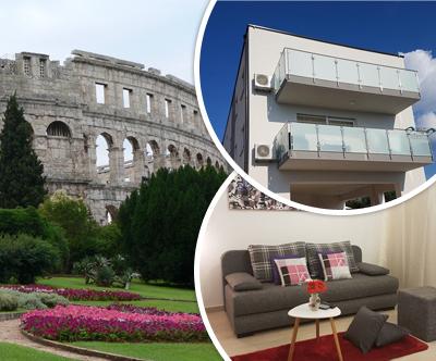 Apartma Brist Hills 4*, Pula: romanticne pocitnice