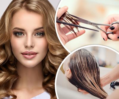Cut'n go: žensko striženje z umivanjem in sušenjem las