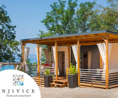 Kamp Njivice, mobilne hiške Gold, Campi Park