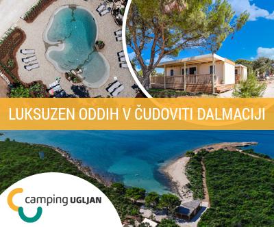 Mobilne hišice, Kamp Ugljan Resort: družinski oddih