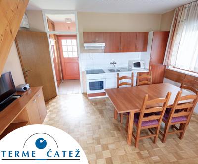 Terme village – Apartmaji Terme Catež***/superior