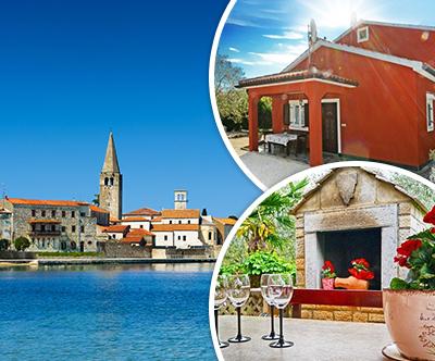 Apartmaji MeMa, Istra: 3-dnevni oddih za do 3 osebe